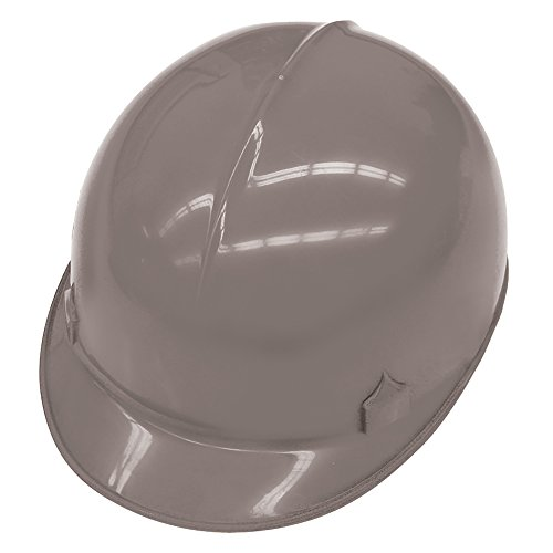 Jackson Safety C10 Bump Cap (14816), Safety Hard Hat for Minor Bumps, Absorbent Brow Pad, 4-Pt. Suspension, Gray, 12 / Case