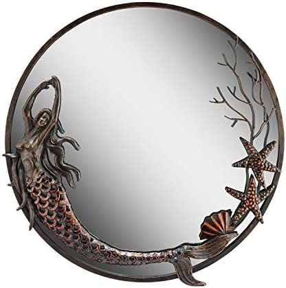 SPI Mermaid Round Mirror