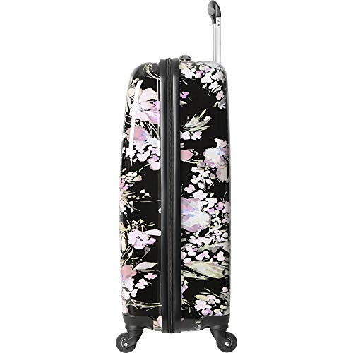 Ninewest Luggage Carry-on Expandable Spinner Luggage, Lily Festival