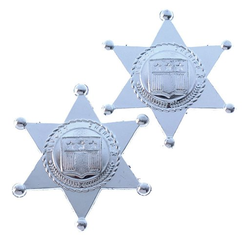 Toy Sheriff Badges (One Dozen Bag)]()
