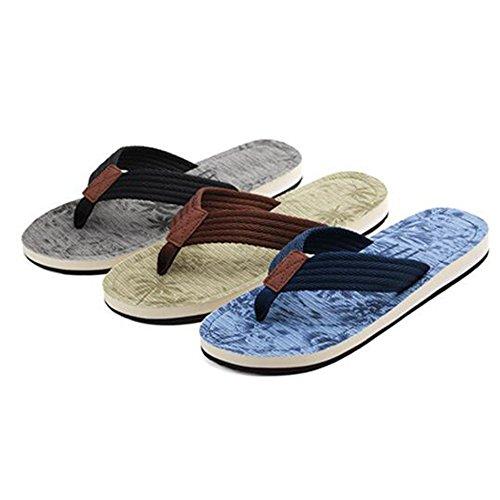 Scegliere Xiaolin Europa Uomo 01 Colore Di Spiaggia Estate Con Sandali dimensioni Colori 03 Opzionali Pantofole Da Tra tre E Trend Stati Uniti Cui Antiscivolo UxIgrUAEqw