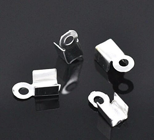 500pc-silver-cord-end-caps-pieces-fold-over-jewelry-connectors-with-loop-lead-nickel-free-6-x-3-silv