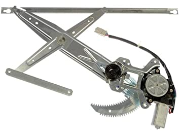 1996-2000 Honda Civic Coupe 2 Door Power Window Regulator with Motor Right Passenger Side