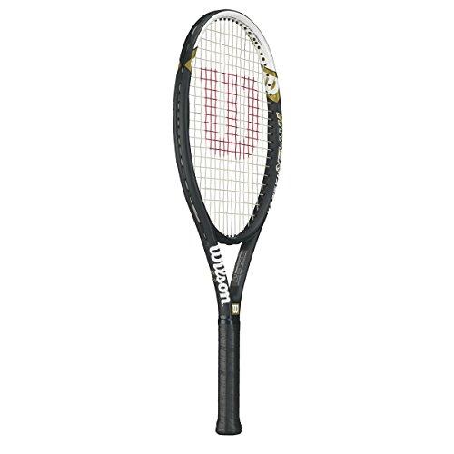 Wilson Hyper Hammer 5.3 Strung Tennis Racquet Bundled with a Tennis Bag