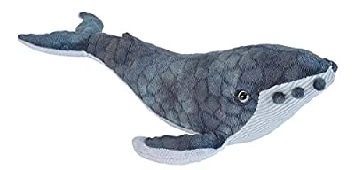 Wild Republic Humpback Whale Plush, Stuffed Animal, Plush Toy, Gifts for Kids, Cuddlekins