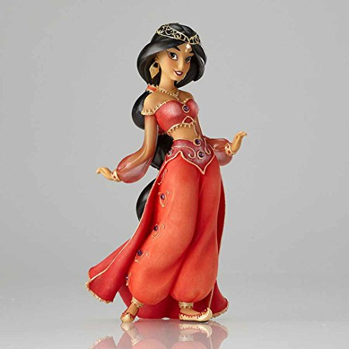 "Enesco Disney Showcase Couture de Force Jasmine 25th Anniversary Edition from ""Aladdin"" Stone Resin Figurine"