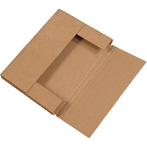 "Discount Aviditi M961K Corrugated Easy-Fold Mailer, 9-5/8"" Length x 6-5/8"" Width x 1-1/4"" Height, Kraft (Bundle of 50) hot sale"