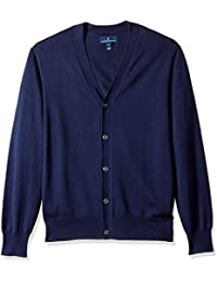 Men's Supima Cotton Lightweight Cardigan Sweater
