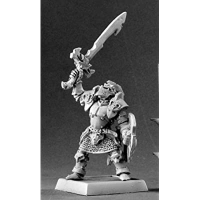 Reaper Ymrillix The False Anti Paladin Warlord Miniatures: Toys & Games