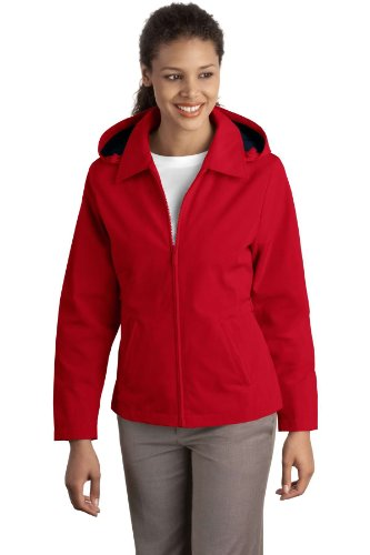 Port Authority - Ladies Legacy Jacket. - Red/Dark Navy - 4XL