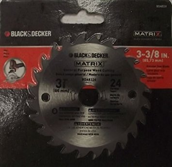 Black & Decker Replacement Blade - Black and Decker BDA8324 Matrix 3-3/8
