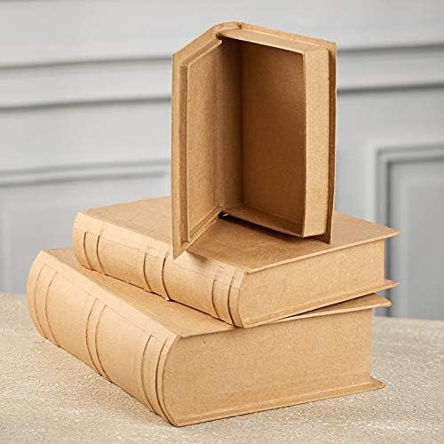 2824-74FCAL Bulk Buy 2-Pack Darice DIY Crafts Paper Mache Book Box 9-3//4 x 6-1//2 x 2-1//4 in
