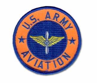 """U.S. ARMY AVIATION 3"""" MILITARY PATCH"""