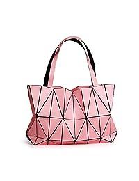 GAOLIQIN 2018 New Wave Packet Women's Handbag Ladies Geometric Top-Handle Bags Crossbody Shoulder Bag Messenger Bags para Ocio, Compras, Trabajo