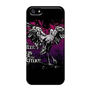 For Iphone Case, High Quality Three Days Grace For Iphone 5/5s Cover Cases