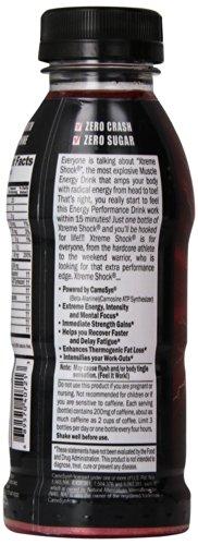 Ansi Xtreme Shock RTD Energy Drink, Fruit Punch, 12 fl.oz, 12 Count