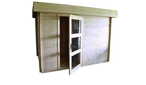 Lunz - Caseta de jardín (3, 20 x 2, 0 m, listones de 19 mm): Amazon.es: Jardín