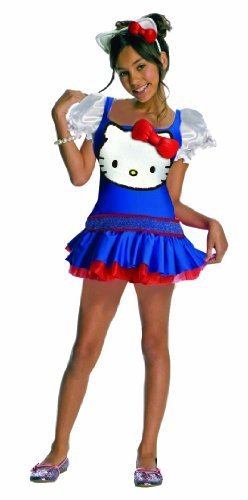 Hello Kitty Blue Romper Child Costume - Medium (Hello Kitty Blue)