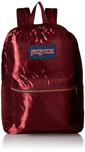 JanSport JS0A3C4W50C High Stakes Backpack, Russet Red/Rose Gold (Jansport Viking Red Backpack)