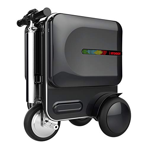 Rydebot Cavallo- Smart Motorized Scooter Rideable Suitcase/Luggage for Adults/Kids with Removable Battery, USB Charging…
