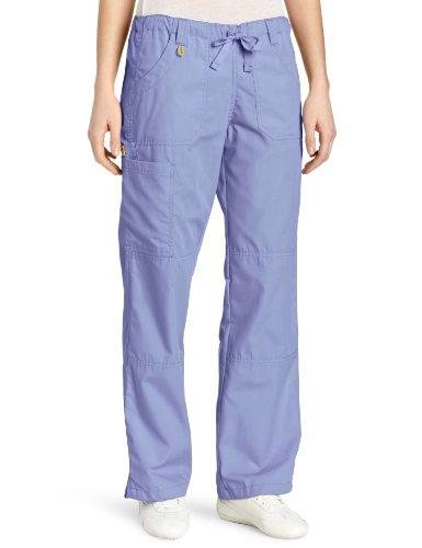 WonderWink Women's Scrubs  Cargo Pant, Ceil Blue, 3X-Large