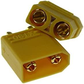 Xt90 Nylon alta corriente conector xt90 1 par 2 pieza Oro Conector ...