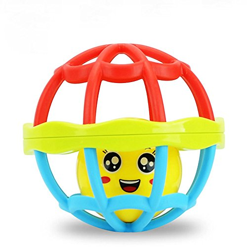Baby Grasping Bell Ball Kids Toys Rattles Sound Educational