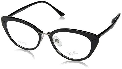 Ray-Ban RX7088 Eyeglass Frames 2000-52 - Shiny Black - Ban Ray $20