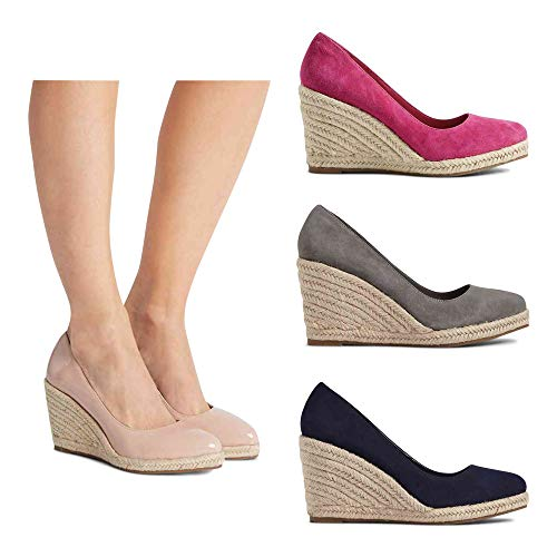 Grey Outlet Donna Espadrillas T024609a London The A71nTp
