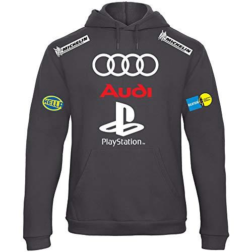 Audi Speed Felpa Rally Cappuccio Scu044 Con Racing Personalizzata Need For SACRq