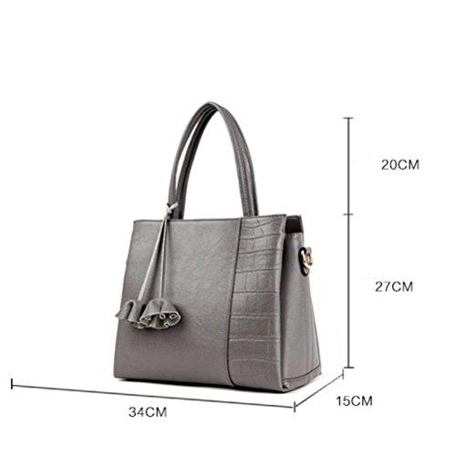 2018シンプルなバッグ女性の新しいハンドバッグ大容量ヨーロッパと米国のファッションショルダーバッグメッセンジャーバッグタイド