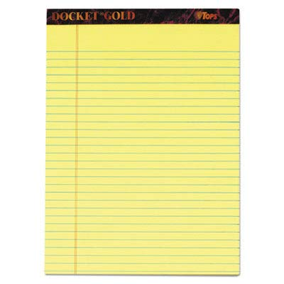 TOP63950 - Docket Gold Perforated Pads