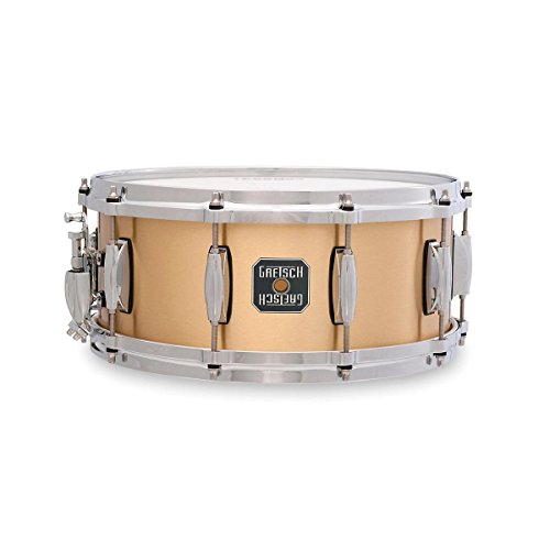 UPC 019239421975, Gretsch Drums Gold Series S1-6514BB-BR 14-Inch Snare Drum, Satin