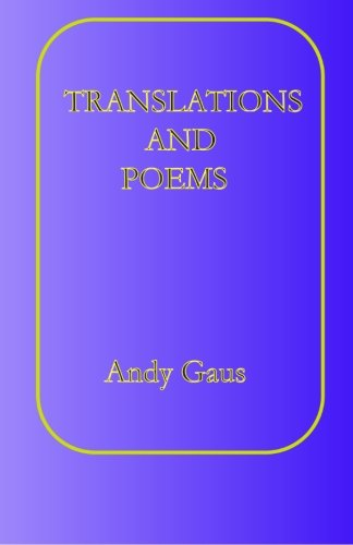 Translations and Poems