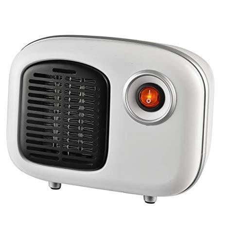 Soleil Personal Electric Ceramic Heater – White
