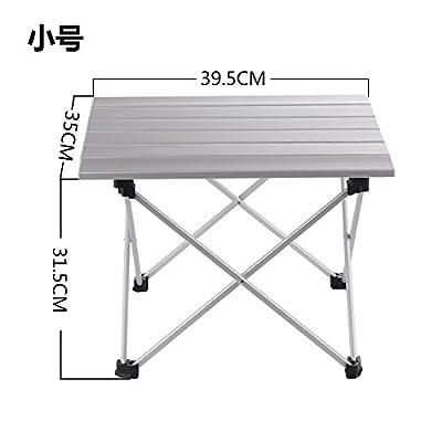 Xing Lin Table Pliable Table De Pique-Nique En Plein Air Portable Pliant Léger En Aluminium Alliage De Cuisson Camping Gravure Ensemble Table Et Chaises Au Volant