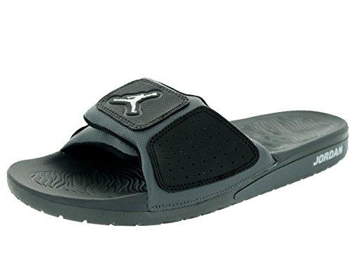 cee51c75dbc1 Nike Jordan Men s Jordan Hydro 3 Dark Grey White Black Sandal 8 Men US -  Buy Online in UAE.
