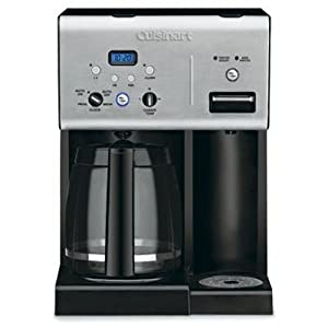 Cuisinart Coffee Maker Hot Water Manual : Amazon.com: Cuisinart CHW-12 Coffee Plus 12-Cup Programmable Coffeemaker with Hot Water System ...