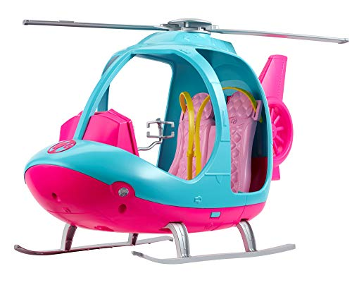 Barbie Dreamhouse Adventures Helicopter (Monster High Dolls Basic Travel)