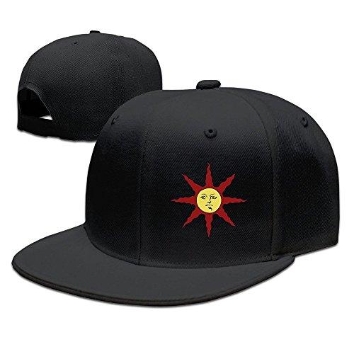 The Holy Sun Baseball Snapback Cap Black