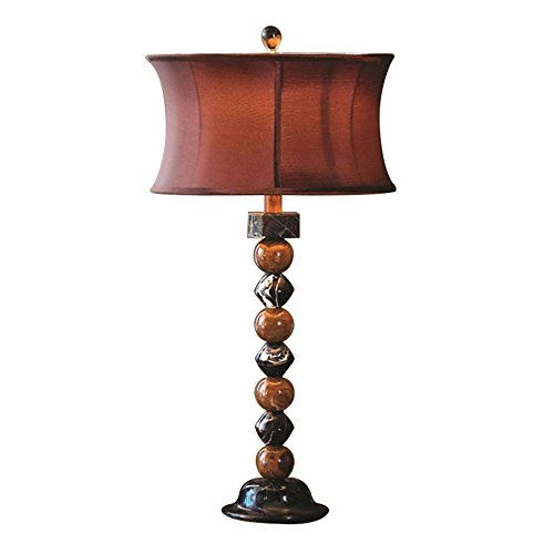 Rembrandt Home Cerus Gravity Marble Table Lamp  Beige
