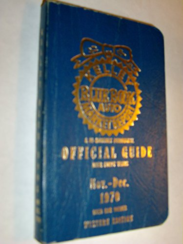 Kelley Blue Book, 1970 Nov. - Dec., Official Guide - Used Car Values / Western Edition