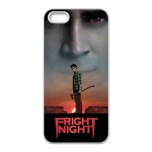 D1R25 Fright Night Haute Résolution Affiche M7W7VC coque iPhone 4 4s cellule de cas de téléphone couvercle coque blanche DD7KMQ9VI