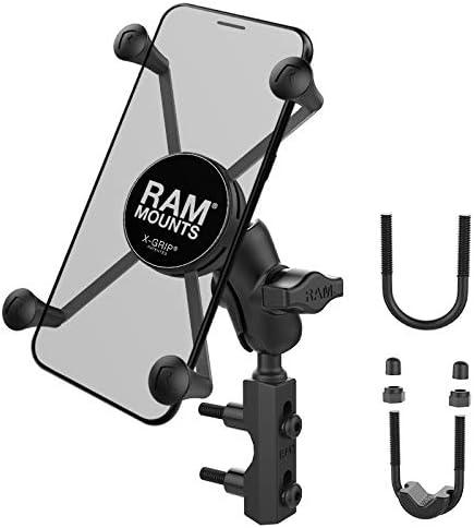 Ram Mounts Unpkd Ram Motorcycle Mount Lg Ram X Grip Computer Zubehör