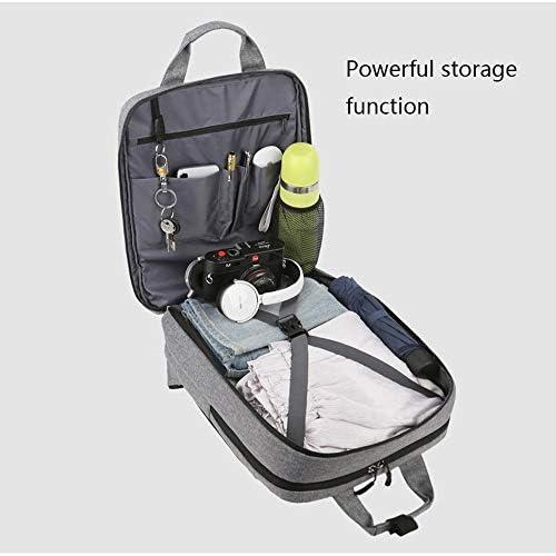 HTJBJBB Zaino For Laptop, Zaino Casual Con Porta Di Ricarica USB, Grande Capacità, Zaino Impermeabile Adatto For Viaggi/Affari/College/Signore/Uomini, Multi-dimensioni  mAVT0
