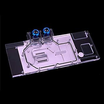 Amazon.com: Full Cover Water Cooling GPU Radiator Block use ASUS Turbo GTX1080-8G/1080TI-11G/TURBO GTX 1070TI: Computers & Accessories