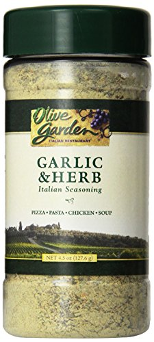 Olive Garden Garlic & Herb Italian Seasoning 4.5oz Bottle (Pack of 3)
