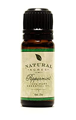 Peppermint Essential Oil - 100% Pure Therapeutic Grade Peppermint Oil by Natural Acres - 10ml