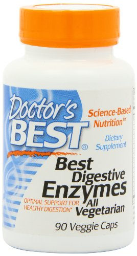 Doctor's Best Best Digestive Enzymes, Vegetable Capsules, 90-Count, Health Care Stuffs