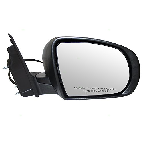 Side View Mirrors Manual Pair RH LH for 97-01 Jeep Cherokee XJ